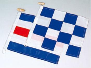 PLASTIMO フラッグセット(国際信号旗) NC旗・ダイビング旗